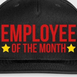 Employee Of The Month  Caps - Snap-back Baseball Cap