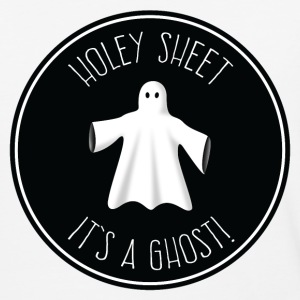 Holey Sheet It's A Ghost T-Shirts - Baseball T-Shirt