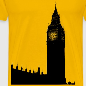 Big Ben, houses of parliament - Men's Premium T-Shirt