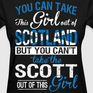 You Can Take The Girl Out Of Scotland - Women's T-Shirt