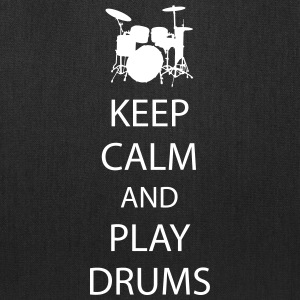 Keep Calm Drummer Bags & backpacks - Tote Bag