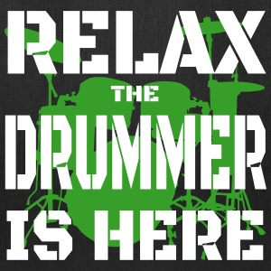 Relax Drummer 2 Bags & backpacks - Tote Bag