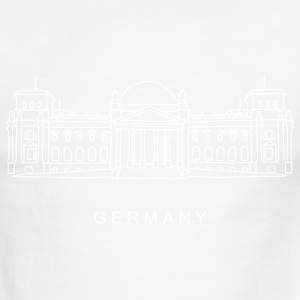 Reichstag building Berlin T-Shirts - Men's Ringer T-Shirt
