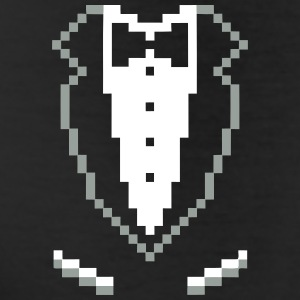 SMOKING TUXEDO PIXEL SHIRT Bottoms - Leggings