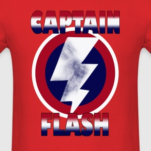 captain flash - Men's T-Shirt