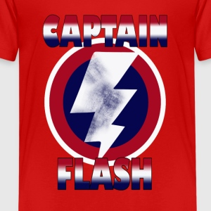 captain flash - Kids' Premium T-Shirt