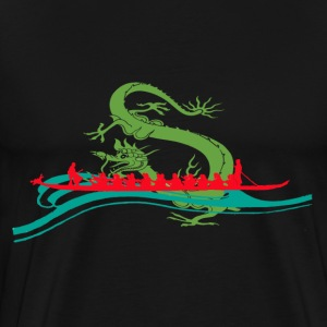 Dragonboat Red T-Shirts - Men's Premium T-Shirt