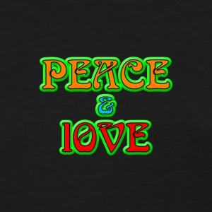 Peace And Love - Women's T-Shirt