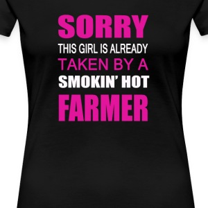 Taken By A Farmer - Women's Premium T-Shirt