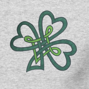 Irish Clover Knot - Men's Long Sleeve T-Shirt by Next Level