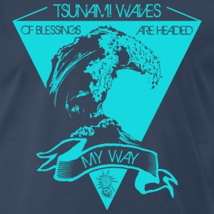 Tsunami of blessings - Men's Premium T-Shirt