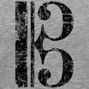 Alto Clef T-Shirt (Men/Gray) - Men's Premium T-Shirt