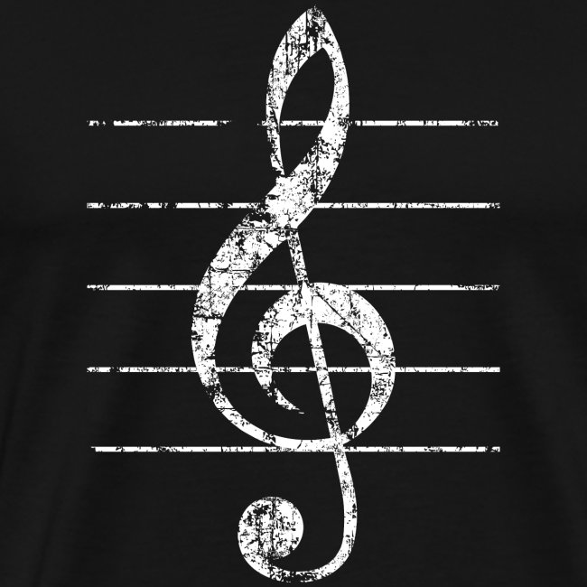 Musical Instruments T Shirts Gifts Shop Treble Clef Lines