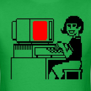 Happy computer - Men's T-Shirt