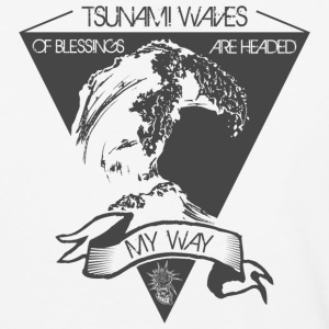 Tsumai waves of blessings - Baseball T-Shirt