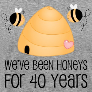 40th Anniversary Honey Bees T-Shirts - Men's Premium T-Shirt