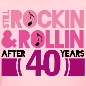 40th Anniversary Rock N Roll Women's T-Shirts - Women's T-Shirt