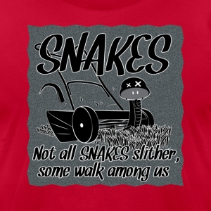 Snake in the grass - Men's T-Shirt by American Apparel