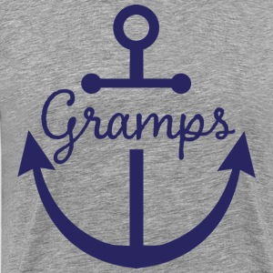 Gramps Nautical Anchor T-Shirts - Men's Premium T-Shirt