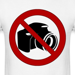 No Photos! - Men's T-Shirt
