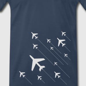 airplanes - Men's Premium T-Shirt