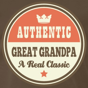 Great Grandpa vintage T-Shirts - Men's Premium T-Shirt