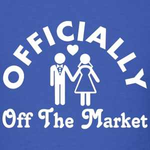 Married Officially Off The Market T-Shirts - Men's T-Shirt