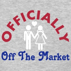 Married Officially Off The Market Women's T-Shirts