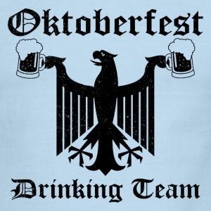 Vintage Oktoberfest Drinking Team T-Shirts - Men's Ringer T-Shirt