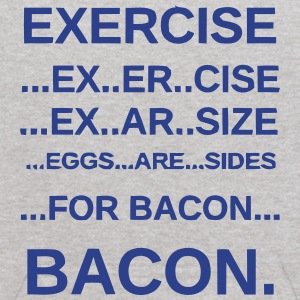 EXERCISE BACON Sweatshirts - Kids' Hoodie