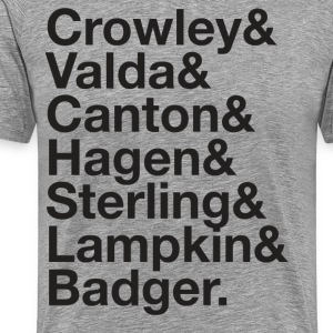MARK SHEPPARD and His Many Characters - Men's Premium T-Shirt
