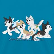 Design ~ My Little Husky - Women's T-Shirt