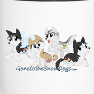 Design ~ My Little Husky - Travel Mug
