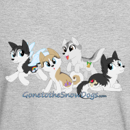 Design ~ My Little Husky - Men's Long Sleeve