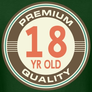 18th Birthday vintage T-Shirts - Men's T-Shirt
