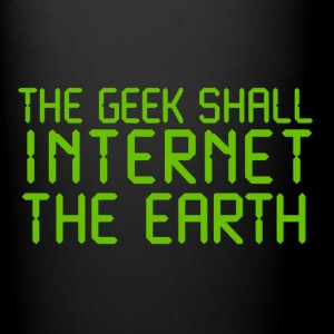 The geek shall internet Mugs & Drinkware - Full Color Mug