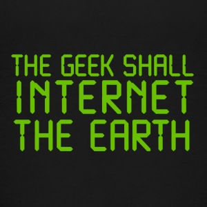 The geek shall internet Kids' Shirts - Kids' Premium T-Shirt
