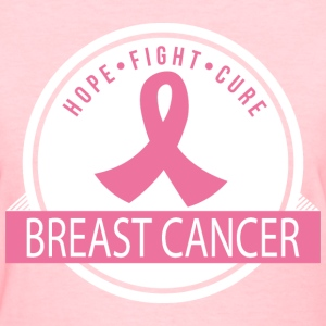 Breast Cancer Hope Fight Cure Women's T-Shirts - Women's T-Shirt