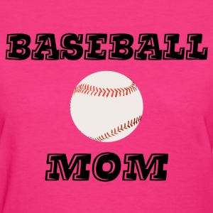 Baseball Mom Women's T-Shirts - Women's T-Shirt