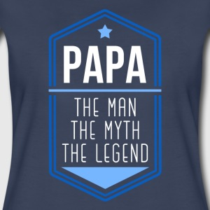 Family Papa the legend Women's T-Shirts - Women's Premium T-Shirt