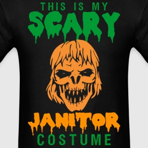 This Is My Scary Janitor Costume - Men's T-Shirt