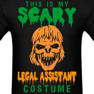 This Is My Scary Legal Assistant Costume - Men's T-Shirt