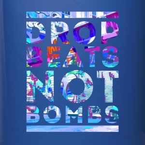 Rap drop beats not bombs Mugs & Drinkware - Full Color Mug