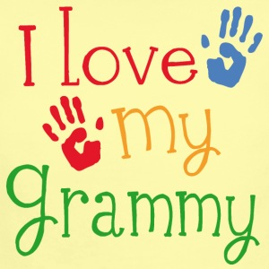 I Love My Grammy Baby & Toddler Shirts - Short Sleeve Baby Bodysuit