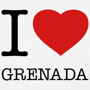 I LOVE GRENADA - Women's T-Shirt