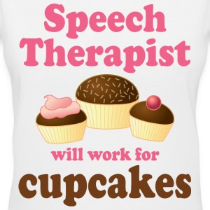 Speech Therapist Funny Gift Women's T-Shirts - Women's V-Neck T-Shirt