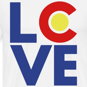 Colorado Love T-Shirts - Men's Premium T-Shirt