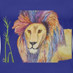 Punk Lion Woman's T - Women's Premium T-Shirt