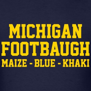Michigan Footbaugh - Men's T-Shirt