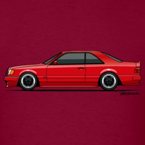 Mercedes W124 300CE AMG Red T-Shirts - Men's T-Shirt